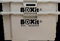 BOXit-muuttolaatikot sisäkkäin